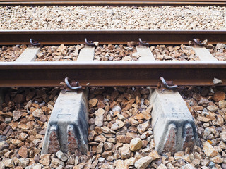structure of railways track