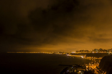 Lima in a winter night.
