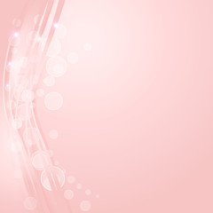 Pink abstract line and wave texture background