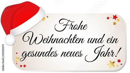 Frohe Weihnachten Und Ein Gesundes Neues Jahr.Frohe Weihnachten Und Ein Gesundes Neues Jahr Stock Image And