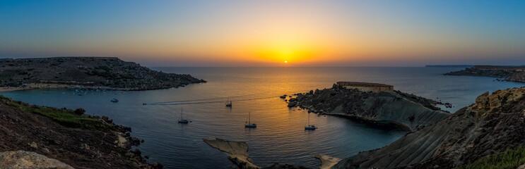 Einsame Bucht auf Malta