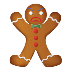 Pictures Of Decorated Gingerbread Man