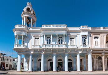 Historical building in Cienfuegos, Cuba