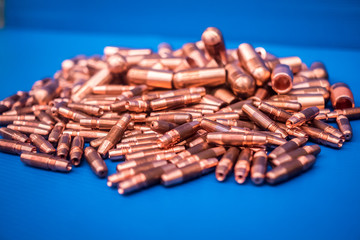 copper,cap tips
