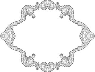 Baroque decor page