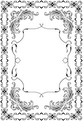 Baroque perfect art frame