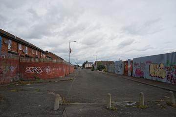 Friedenslinie in Belfast