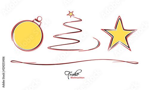 weihnachten zeichnung symbole stockfotos und lizenzfreie vektoren auf bild 124253406. Black Bedroom Furniture Sets. Home Design Ideas
