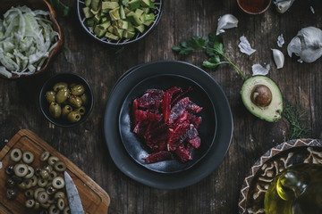 Avocado and Quinoa Salad with Blood Oranges and Fennel