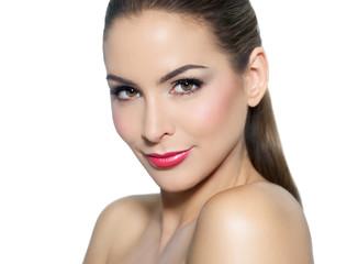 Woman With Beautiful Makeup