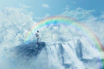 heaven's waterfall