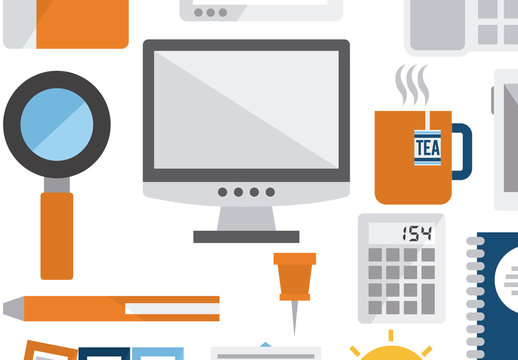 15 Tech and Productivity Icons