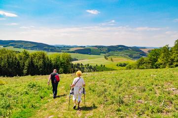hiking trail in germany
