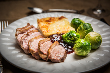 Duck Breast - Food Photography