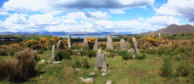 Stone circle;Ardgroom, county cork, ireland