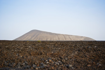 Timanfaya national park;Lanzarote canary islands spain