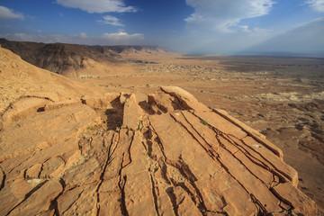 Landscape of the desert;Israel