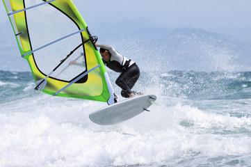 Windsurfing;Tarifa cadiz andalusia spain