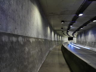 George Vanier Street tunnel from St. Antoine to St. Catherine Street, Montreal, Quebec, Canada
