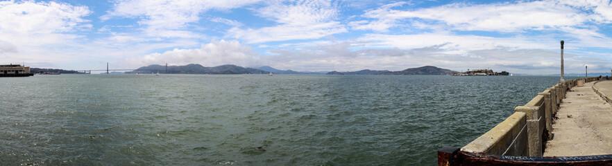 Panorama von der Bucht von San Francisco