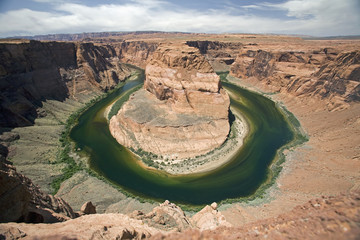 Horseshoe Bend Canyon; Page, Arizona, United States Of America