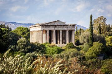 Temple of Hephaestus, Greek Orthodox church of St. George Akamates; Athens, Greece