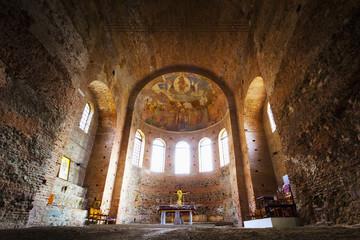 The fourth century AD Rotunda of Galerius, a Roman monument; Thessaloniki, Greece