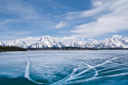 Jackson Lake in Winter