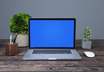 Laptop-Arbeitsbereich – Modell