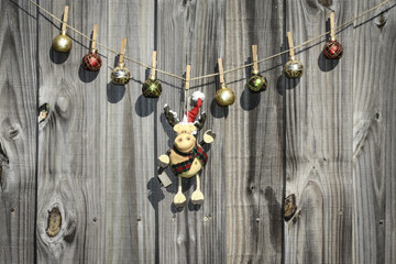 Image of Hanging Christmas Ornaments