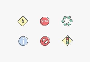 Conjunto de signos y símbolos