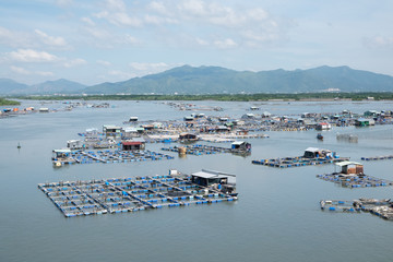 Long Son float fishing village, Long Son, Long Hai, Ba Ria- Vung Tau