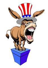 Democrat Donkey.