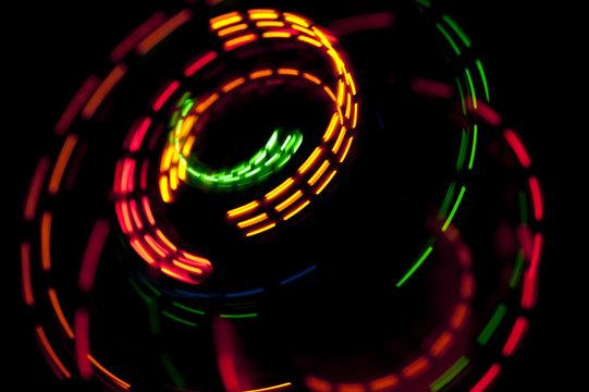 rotating lights