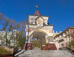 Nikolaev triumphal arch Vladivostok
