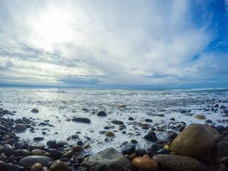 Rocky California Beach