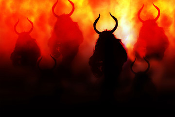 Devils coming