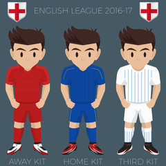 Leicester Football Soccer Club Kits 2016/17 Premier League