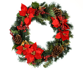 Wreath: Christmas Wreath with No Snow