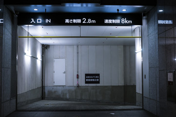 地下駐車上入り口