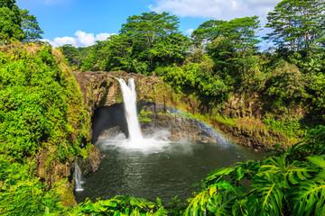 Hawaii, Rainbow Falls in Hilo