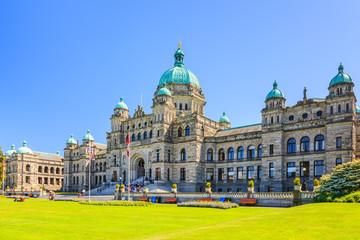 Victoria, British Columbia. Parliament building.