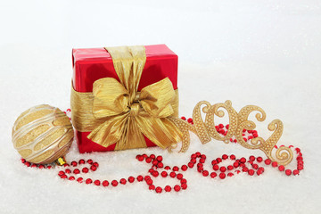 Gift Box and Decorations