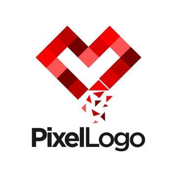 pixel vector logo