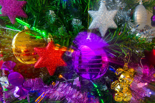 Sapin de no l d cor stock photo and royalty free images - Sapin de noel decore ...