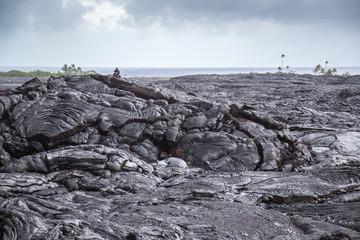 Vulkanlandschaft Hawaii Kīlauea, Mauna Loa
