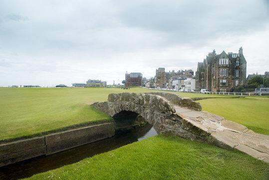 St Andrews Golf Course Swilken Bridge