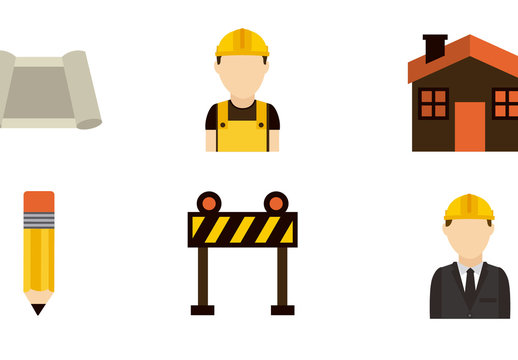 12 Construction and Architecture Icons