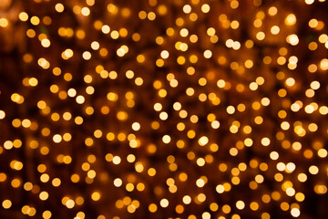 Colorful Christmas abstract bokeh background