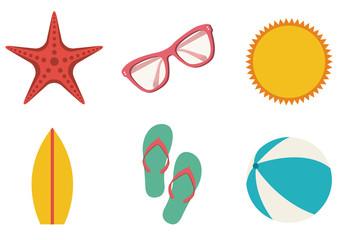 9 Beach Icons